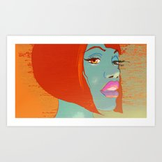 Party Girl Art Print
