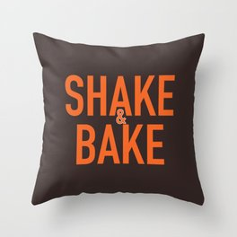 Shake and Bake Throw Pillow