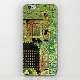 Electronic Integration V iPhone Skin