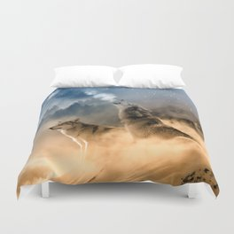 Moonrise Howl Duvet Cover