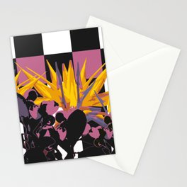 NATURE CHECKERBOARD Stationery Cards