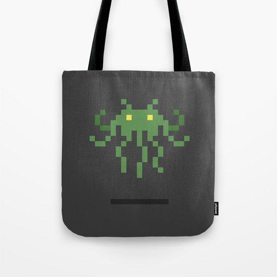 Cthulhu Invader Tote Bag