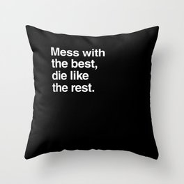Hackers Throw Pillow