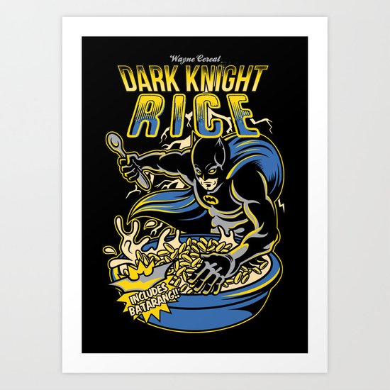 Dark Knight Rises Art Print