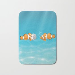 Clown fish Bath Mat