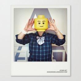 Minifig me ! – Everyone has a LEGO piece inside - 9 Canvas Print