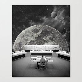 Calling for Help Canvas Print
