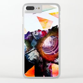 Tandem Thought Clear iPhone Case