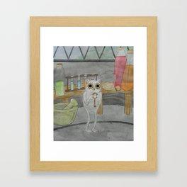 Key Keeper Framed Art Print