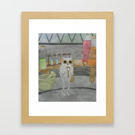 Key Keeper Framed Art Print