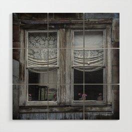 Rust Window Wood Wall Art