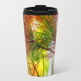 Pine branches with long and dense needles Travel Mug