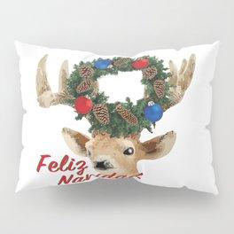 Feliz Navidad Spanish Merry Christmas Pillow Sham