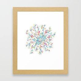 Azalea Blooming Framed Art Print