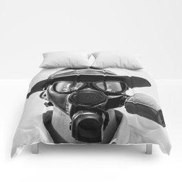 Gas Mask Comforters