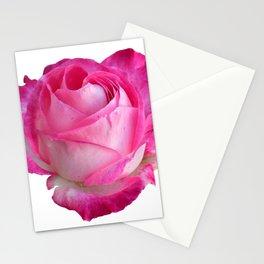 Pink Rose Artwork Design Stationery Cards