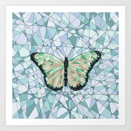 Butterfly free Art Print