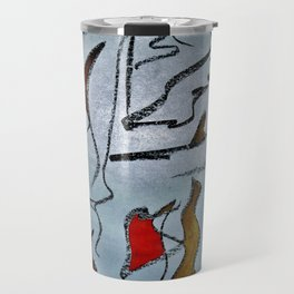 Afrofuturism Travel Mug