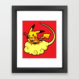 Pikagoku - Parody Framed Art Print