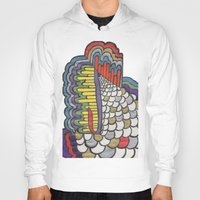 scales Hoodies featuring Cascading Scales by CharlieValintyne