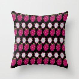 strange fruits (dragonfruit) Throw Pillow