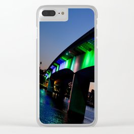 Light the bridge. Clear iPhone Case