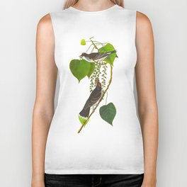 Tyrant Fly-catcher Bird Biker Tank