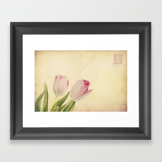 ...with Love Framed Art Print