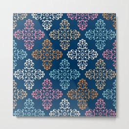 Fleur De Lys Traditional Design. Metal Print