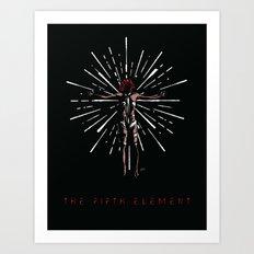 Leeloo Dallas Multipass Art Print