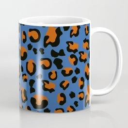 Jungle - Leopard Pattern Blue Coffee Mug