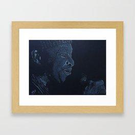 Al Jarreau Framed Art Print