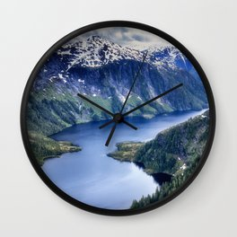 Misty Fiords National Monument Wall Clock