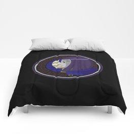 Raven Nouveau Circle Comforters