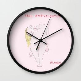 I feel ambivalently Wall Clock