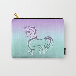 Unicorn #2 #drawing #decor #art #society6 Carry-All Pouch