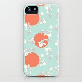 Koi fish pattern 005 iPhone Case