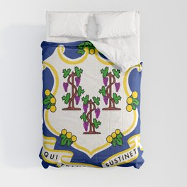Flag of Connecticut Comforters