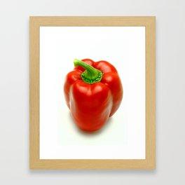 Sweet pepper Framed Art Print