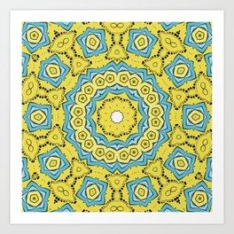 relaxing colors Art Print
