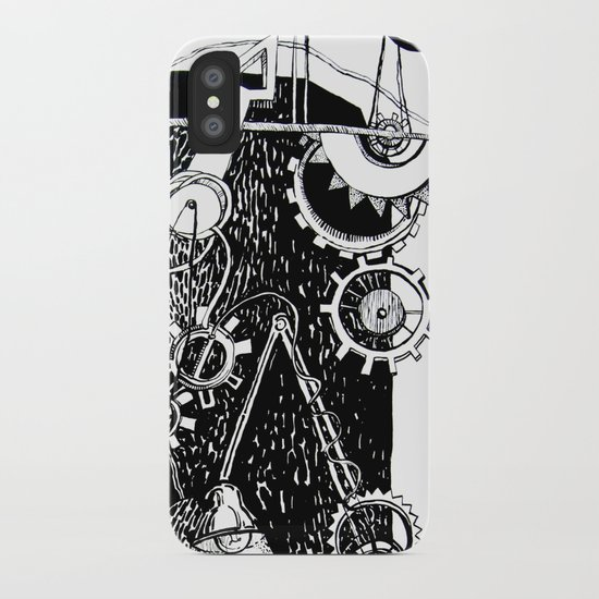 machine iPhone Case