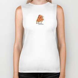 Pizza Slices For 99 cents. Biker Tank