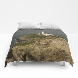 South Stack Lighthouse Comforters