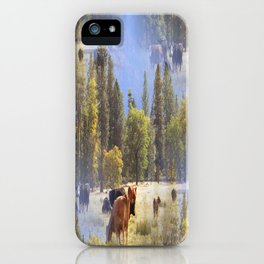 Another place in another time... iPhone Case
