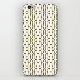 Lowercase x pattern iPhone Skin