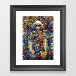 mars abstract Framed Art Print