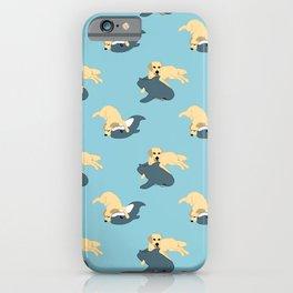 Waffles & Shark iPhone Case