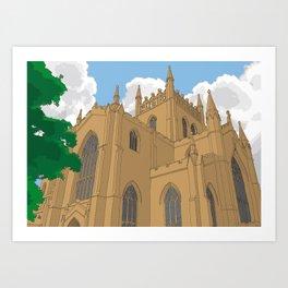 Dunfermline Abbey Art Print