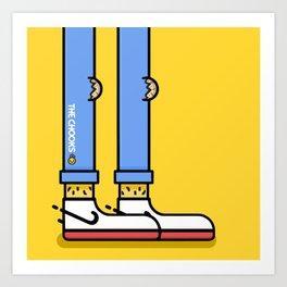 Chook Swoosh Art Print