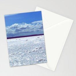 Salty horizon Stationery Cards
